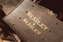 """ch; weasley twins / """"honestly woman, you call yourself our mother!""""  - fred and george weasley, harry potter series"""