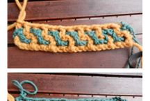 crochet en vague