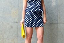 "Fashion&Style: Polka dots / by ""Outfit Ideas, by Chicisimo"" Fashion iPhone App"