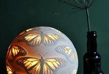 Keramika - světlo