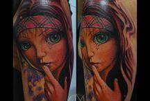 Tatuajes Φ MARCI BLAZSEK Φ / Tatuajes realizados por el artista Marci Blazsek. Logia Barcelona.
