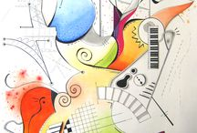 Ruthy Petillantist Art - Ink