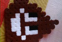hama beads / My hama beads are cute and beatiful...✌ You can see them here☜☜