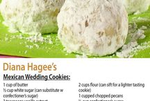 Mexican Wedding Cookies / Confection sugar dusted cookies