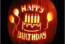 Halloween Birthday / by Brooke Van Riper
