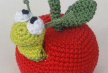 frutas amigurumi