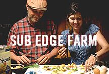 Sub Edge Farm + Triscuit / Rodger & Isabelle Phillips of Sub Edge Farm focus on organic vegetables, pasture-raised meats and one of the simplest ingredients out there—eggs. Triscuit supports them because of their dedication to simple ingredients. We believe that, just like us, they're made for more. / by Triscuit