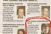Tidningsartiklar