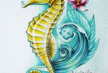 Sea Horse Tattoos