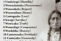 Lakota Sioux / Ancient wisdom and nature spirits. A fascinating language and beautiful people