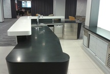 Our job with Corian and CO / We work with Corian, Samsung Staron, LG-Himacs,