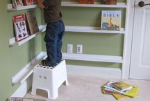 Kid's room bookshelf