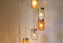Mason Jar Ideas / by Ginger Turner