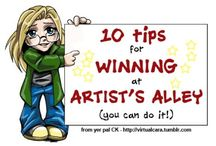 Artist Alley Tips and Ideas
