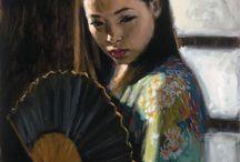 Yağlı boya / Kadın