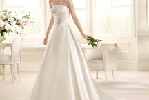 La Sposa by Pronovias / La Sposa by Pronovias highlights the shape of the woman. With Spanish detailing and flare you are sure to make a statement in a beautiful La Sposa gown.