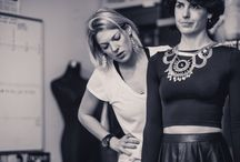 #behindthescenes - Photoshoot Borrowed Tops 2015 / An insight into all the work and hands that were needed for the photoshoot - its always such a fun collaboration. Hair, Make Up, Photographers, Locations, Designers, Models....