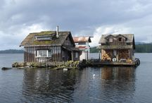 Drijvende huizen / floating houses / Floating houses