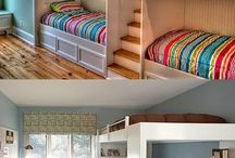 simple bunk bed room