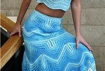 conjunto de saia com cropped
