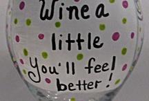 wine glasses/mugs sayings