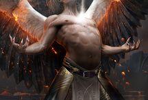 angels badass wings