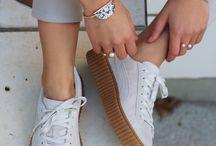 Chaussures rampantes