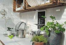 venkovní kuchyň