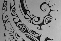Warrior girl- tattoos
