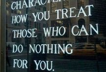 Traits-Moral Qualities-Principles