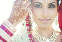 Bridal / Bridal photography, bridal makeup, Indian Bride