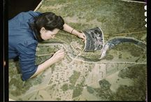 Inspirational women: WWII / From the article: http://www.huffingtonpost.com/2014/09/11/women-jobs-wwii-photos_n_5772976.html?ncid=fcbklnkushpmg00000063