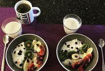 Fruit yoghurt bowl / Healthy, facile et rapide à réaliser pour un bon petit-déjeuner!