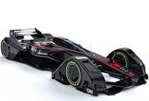 McLaren // MP4-X / Introducing the McLaren MP4-X  McLaren's conceptual vision for the future of motorsport technology.
