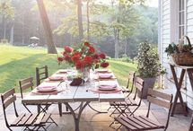 Inspiration-Outdoor Rooms and Kitchens / Outdoor rooms, outdoor room, loggia, outdoor living, outdoor seating, outdoor party, backyard