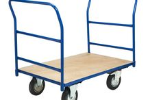 Platform Warehouse Trolley Truck Double Tool Ended Heavy Duty Furniture Home