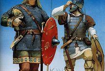 tribu germaniche IV-IX Sec A.D.