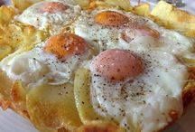 πατατες με αυγα
