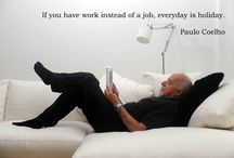 Paulo Coelho - Brazilian Lyricist & Novelist