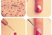 lindos diseños de uñas