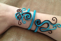 bracelet fil aluminium