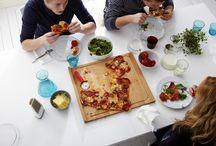Ideas originales sobre tablas de cortar / Muchas ideas originales sobre tablas de cortar, porque ¡con la comida sí se juega!