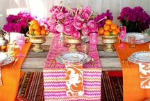 Party themes/Table settings/Flower decoration