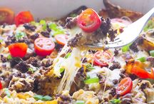 C - Casseroles - Beef - recipes / by Denise Temple