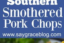 Outstanding Pork Dishes / All the juicy, flavorful, and delicious pork dishes! From pork tenderloin to BBQ pork to creative pork burgers, this board has all the best recipes!