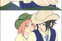 Sausuke and Sakura