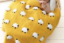 Crochet: Projects and Presents for Babies and Kids / Crochet projects and presents for babies and kids including softies, stuffed animals, amigurumi, baby wraps, and other baby toys and blankets.