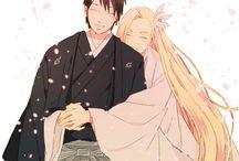 Sai and Ino