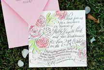 Wedding Invitations / by Katie Meegan