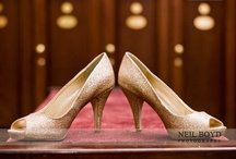 Wedding Shoes / Wedding shoes & wedding heels. Bride's wedding shoes.  It's all about the shoes.